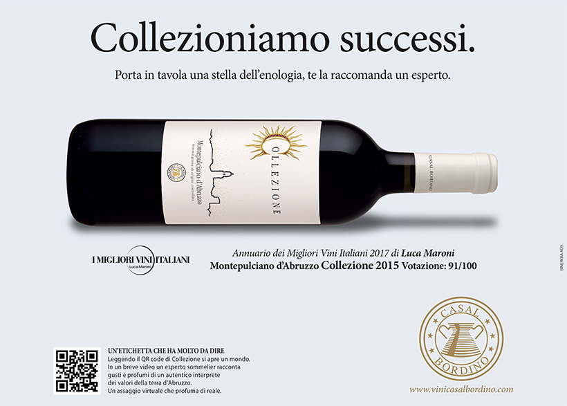 Our Collezione Montepulciano awarded by Luca Maroni